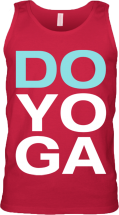 DO YOGA Mens Tank (Red)